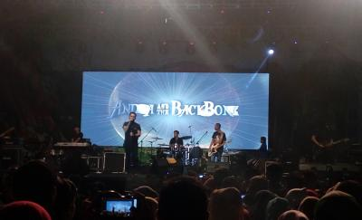TdS 2018 Resmi Ditabuh, Andra and The Back Bone Hibur Ribuan Penonton